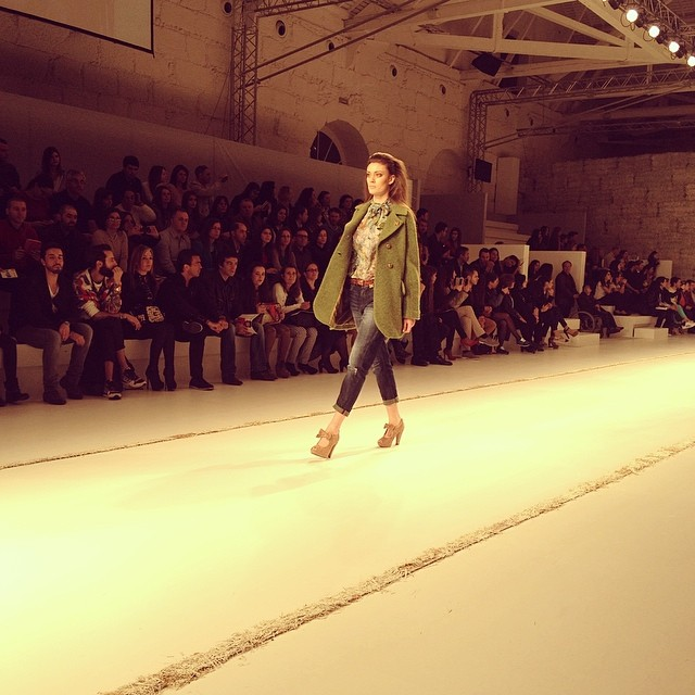 Cool and loose @ #portugalfashion