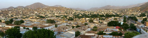 africa panorama color colour horizontal outdoors photography day cityscape keren eritrea hornofafrica eastafrica buildingexterior colorpicture italiancolony elevatedview cheren ertra colourpicture africaorientaleitaliana italiancolonialempire
