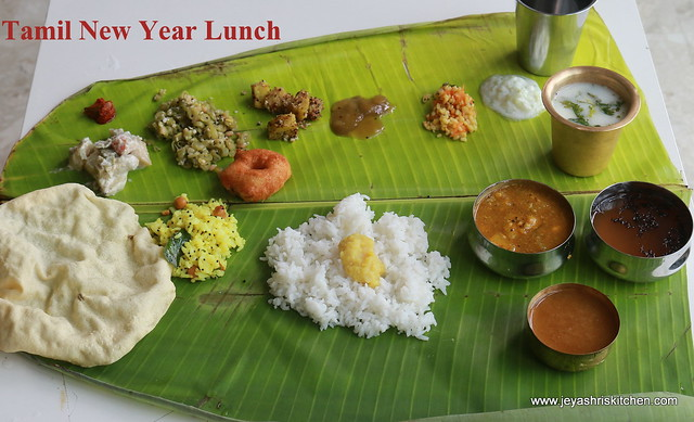 Cooking for guests series 18 tamil new year special lunch menu traditional recipe forumfinder Images