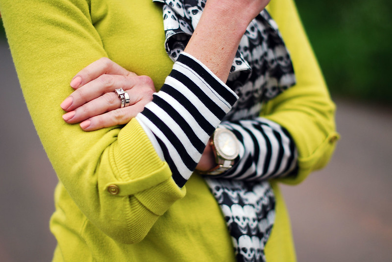 How to Style Lime Green | With Black & White
