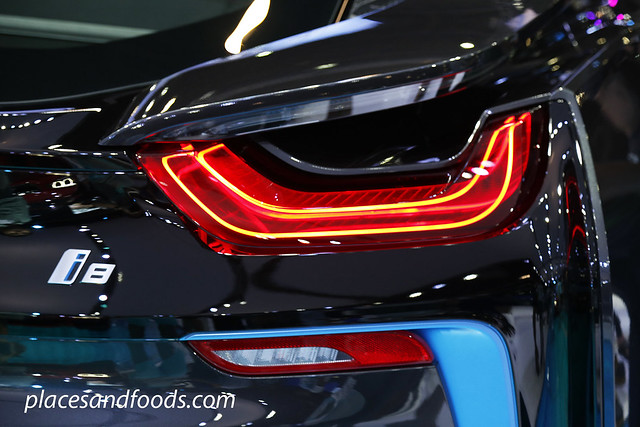 bmw i8 back light