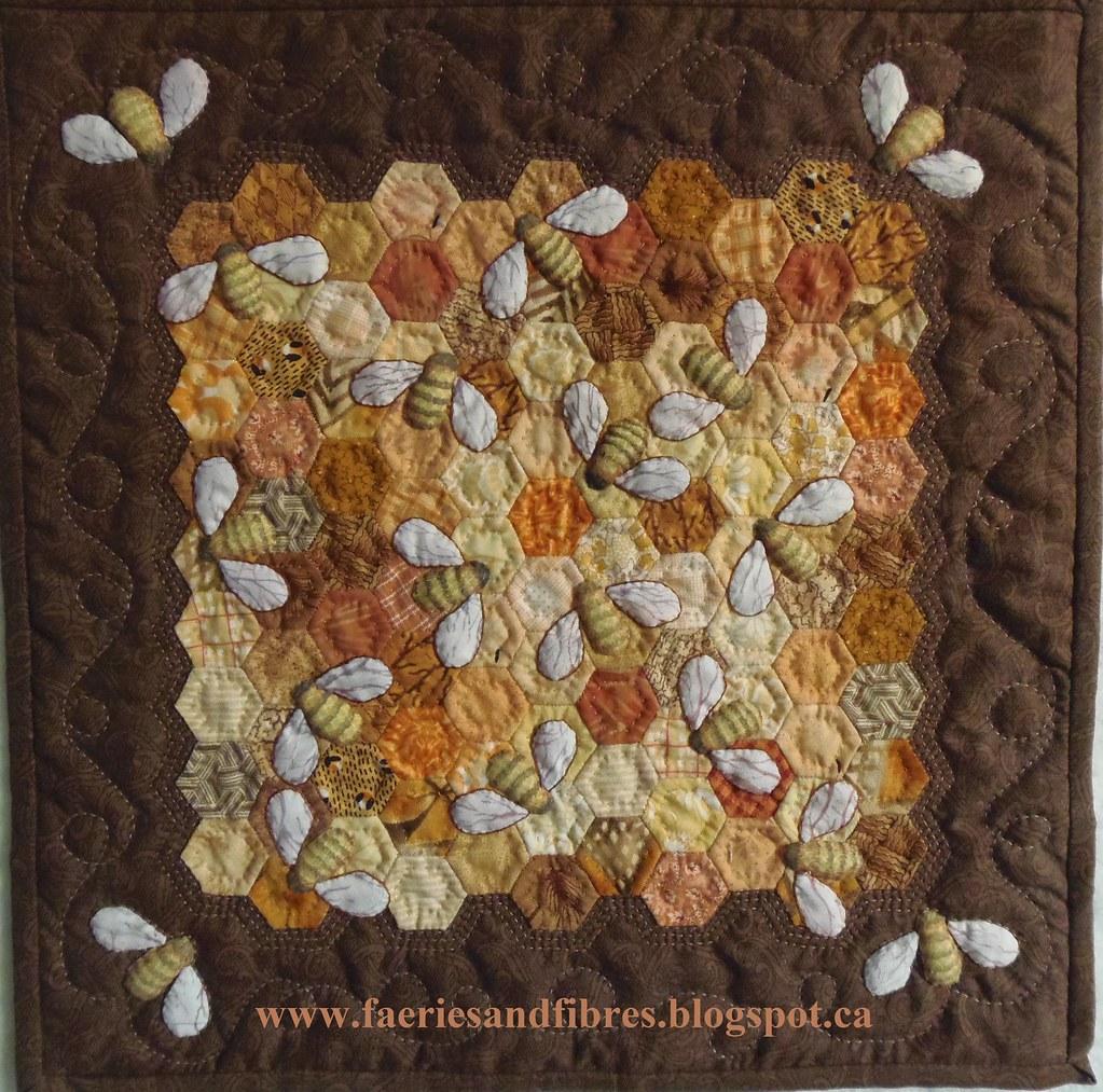 Faeries And Fibres Secret Tote Bag Swap And A Honey Of A