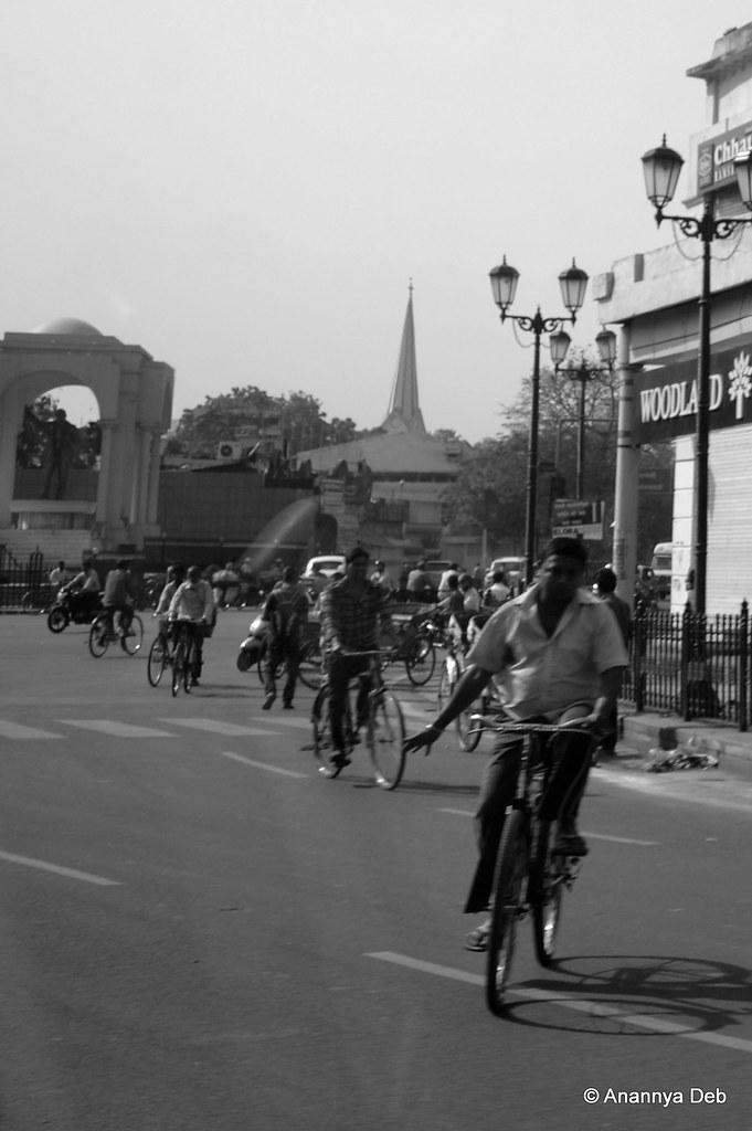 Hazratganj, Lucknow, April 2014