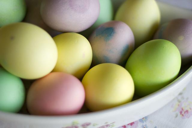 Egg Dyeing