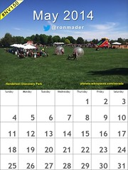 Free! May 2014 Calendar: Henderson Discovery Park (Attribution-ShareAlike license) @cityofhenderson @TravelNevada #nv150