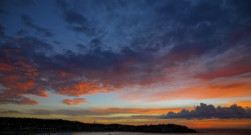 bondi sunrise australia