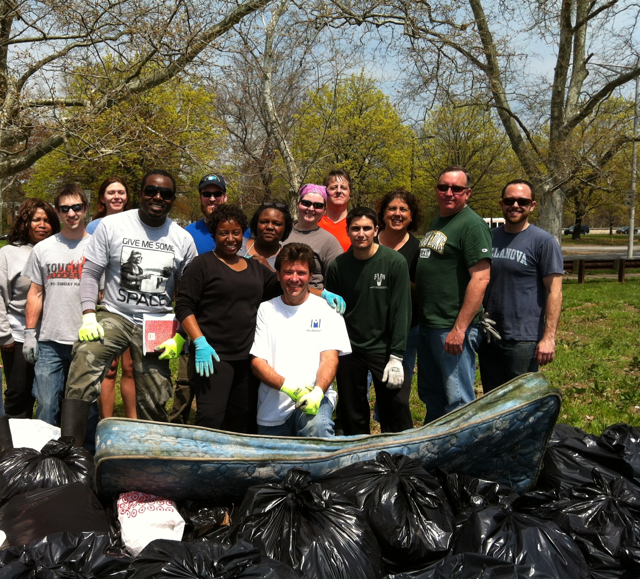 Earth Day 2014 with American Rivers & MedImmune