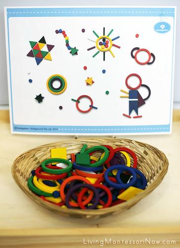 Spielgaben Design Activity Using an Inspiration Card