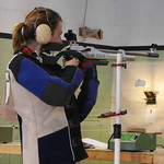 Heather shooting air rifle