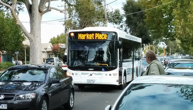Shepparton local bus