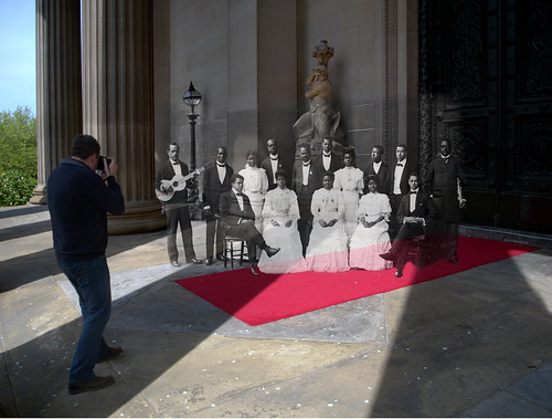 St Georges Hall 1907 in 2014 selfie