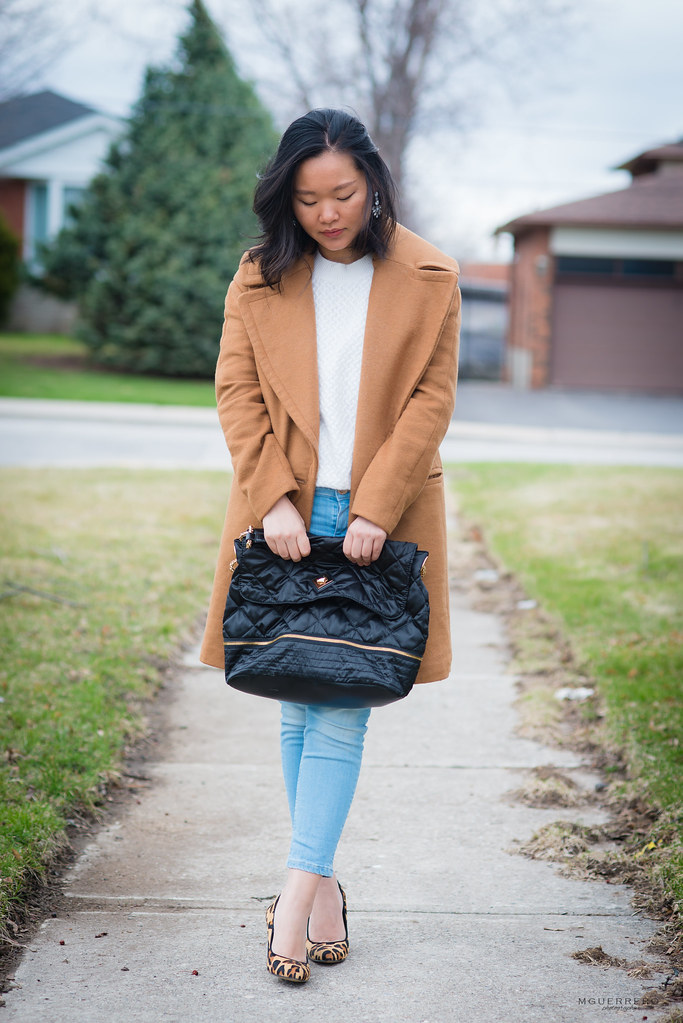 camel coat white sweater 04
