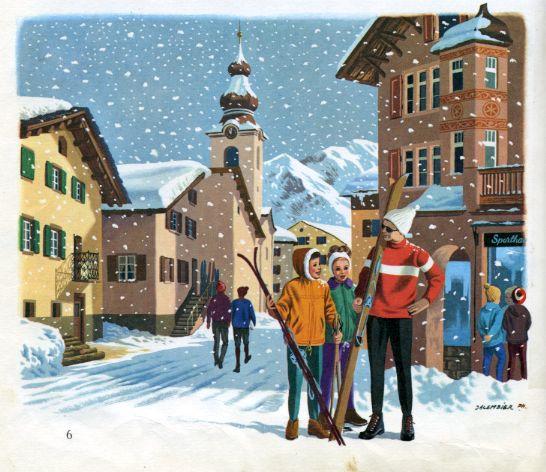 Didier aux sports d'hiver, by Alain GRÉE