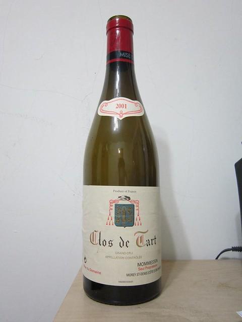 Clos de Tart 2001