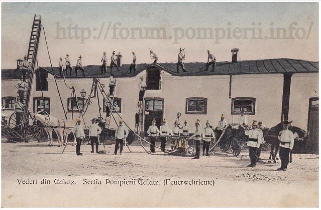 Pompieri Galati - 1901