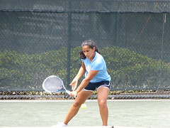 """Common EXTENSOR Tensonr   Any of the muscles that start with """"extensor""""    The point, is when you see lateral epicodylitis  = EXTENSOR inflammation  See how her hand is extended. Serena Williams is sure to walk in to your clinic one day."""