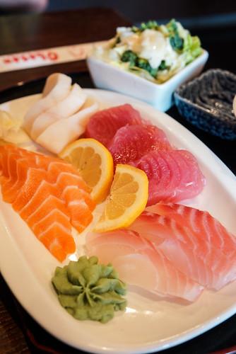 sushi at Obasan!