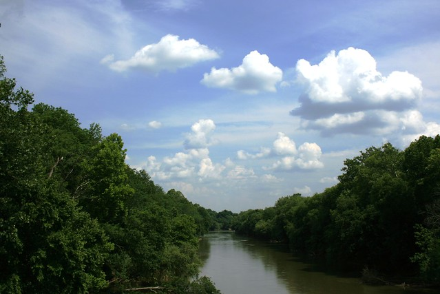 "This section of the Roanoke River is known as the ""Staunton"""