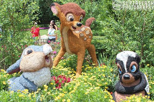 Bambi, Thumper & Flower