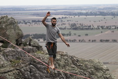 Mount Arapiles Highline