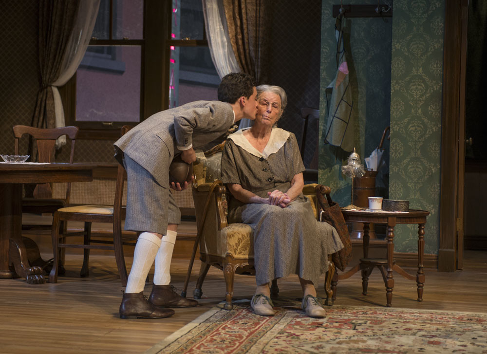 Sebastian W. Weigman (Arty) and Ann Whitney (Grandma)