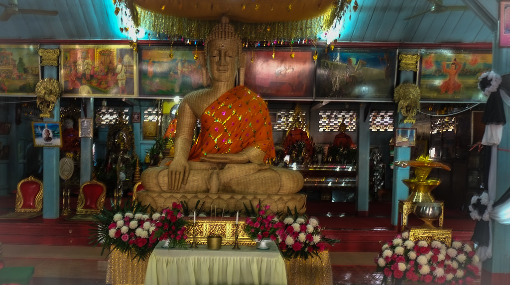 Bamboo Buddha - Wat Chong Kham