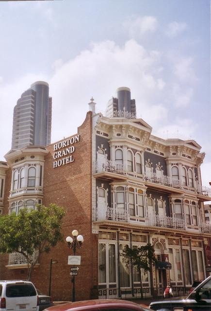 Horton grand hotel san diego ca nrhp original for Hotels 92109