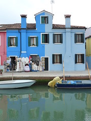 Privato blu - Burano (Venecia)