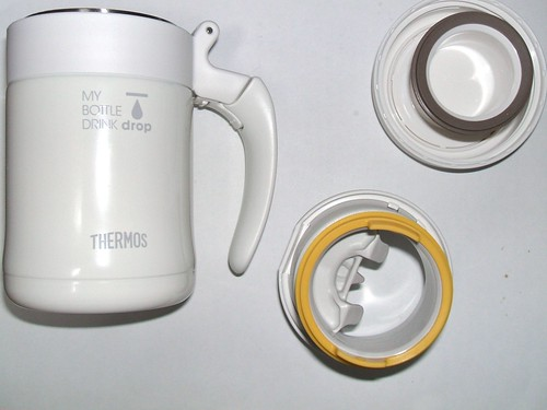 THERMOS MY BOTTLE DRINK drop 感想_栓を取り外して