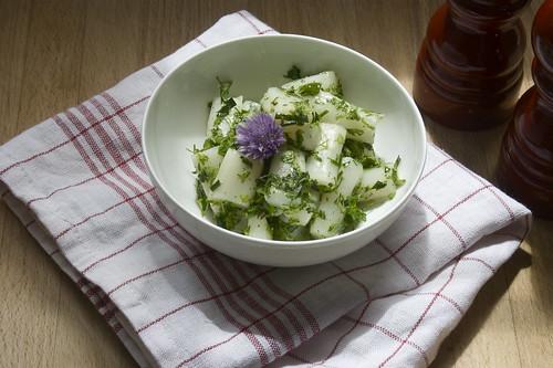 Spargelsalat - asparagus salad