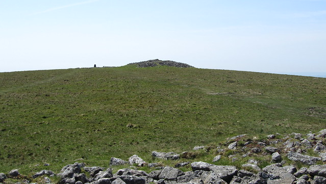 Cairn and Trig on Butterdon Hill
