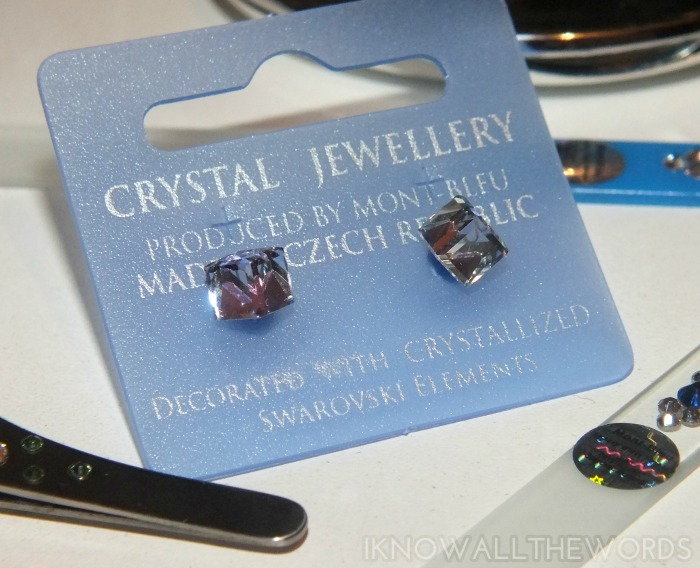 Mont Bleu Crystal Earrings  (2)