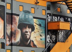 Soldier on Cinema Wall