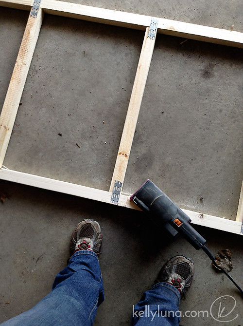 Panel assembly-sanding