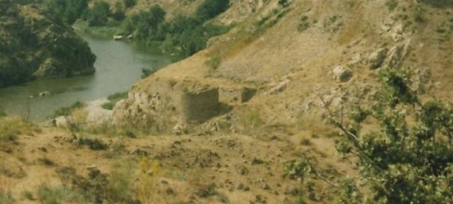 Torre de Alfarach hacia 1980 fotografiada por José Luis Corral