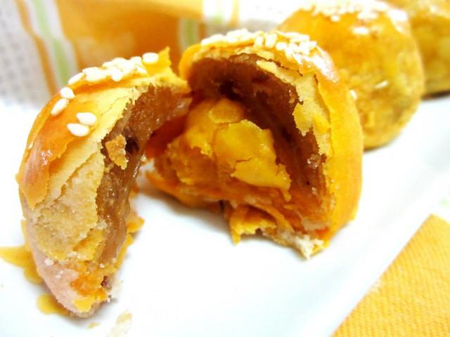 Famour Bakery yolk puffs