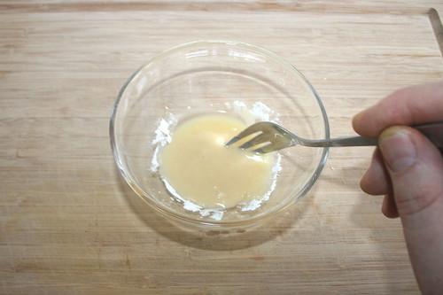 38 - Verrühren & kalte Mehlschwitze herstellen / Mix & produce cold roux