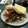 Now That is a sandwich. #tonys #gotbacon #turkey #I75