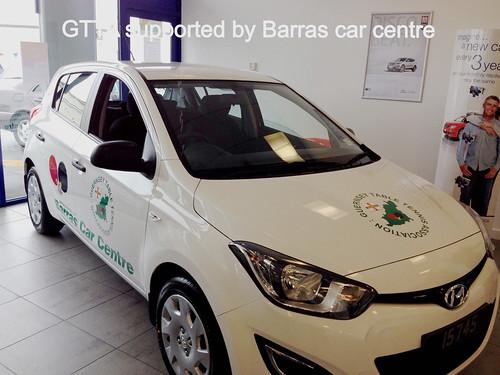 New car for Becks courtesy of Barras Car Centre