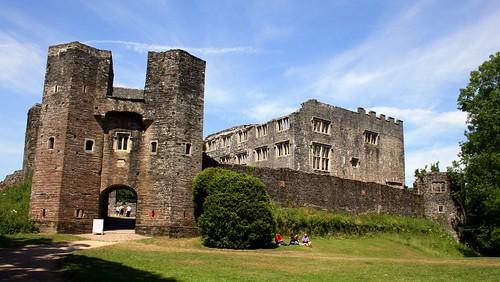 Berry Pomeroy castle, South West, England