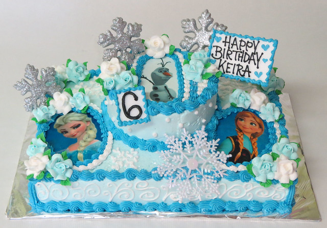 Frozen Birthday Cake  Flickr - Photo Sharing!