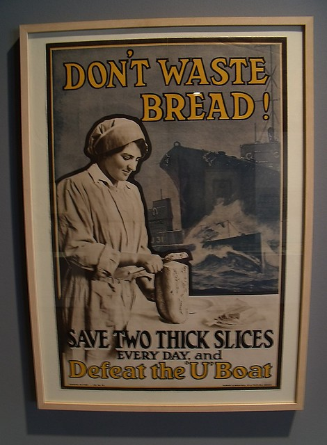 Plakat Don´t waste Bread