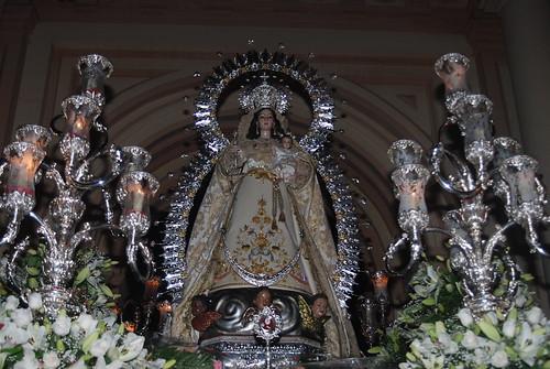 AionSur 14321721205_4f3f26782f_d La lluvia de final de mayo no evita una bonita procesión de la Virgen de Montemayor Cultura Semana Santa