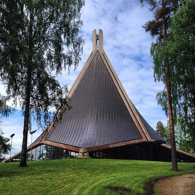 May be our local sightseeing in #Helsinki #church #finland I hope this time we get a place