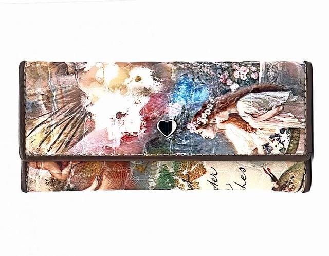 Женская кожаная ключница, коллекция СВ 3171