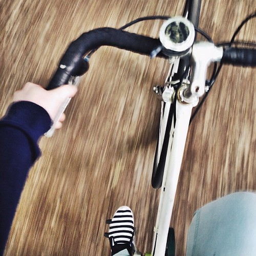 2. Doing {First Time on the bike this year with the belly!} #bike #bern #forest #fmsphotoaday