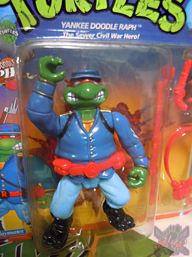 """MUTANT MILITARY 2"" TEENAGE MUTANT NINJA TURTLES ::  YANKEE DOODLE RAPH  ii (( 1992 ))"