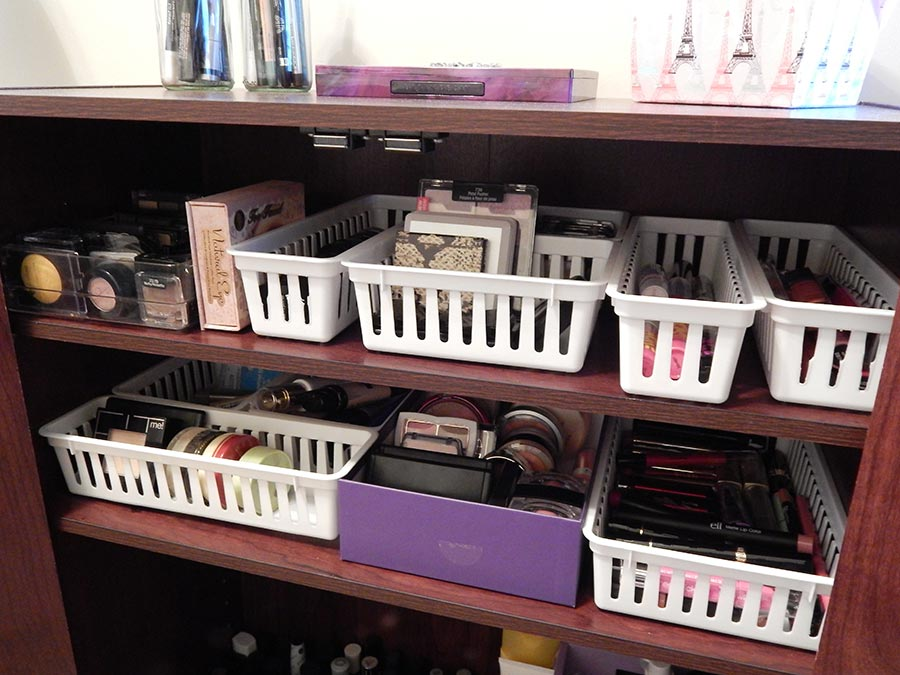 Makeup Collection and Storage 2014