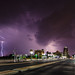 Storm from the St. Petersburg Pier by James Boone