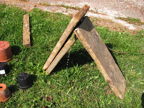 La fontana mobile fai da te costruita con 3 assi for Fontane in legno
